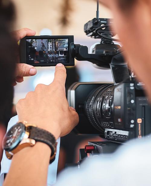 Matériel audiovisuel professionnel